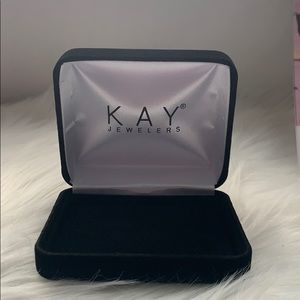 Kay Jewelers Black Velvet box